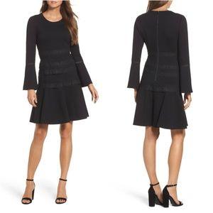 KOBI HALPERIN Preslie Double Knit A-Line Dress